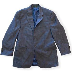 Lauren Ralph Lauren Wool Navy Blue Blazer Sport Coat Men 39S Made in Canada